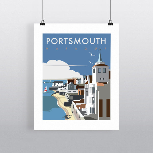 Portsmouth Harbour 11x14 Print