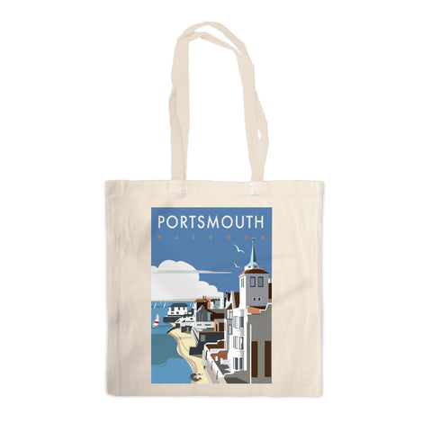 Portsmouth Harbour Canvas Tote Bag