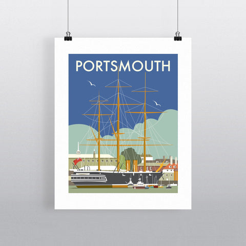 HMS Warrior, Portsmouth Fine Art Print