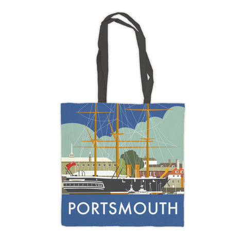 HMS Warrior, Portsmouth Premium Tote Bag