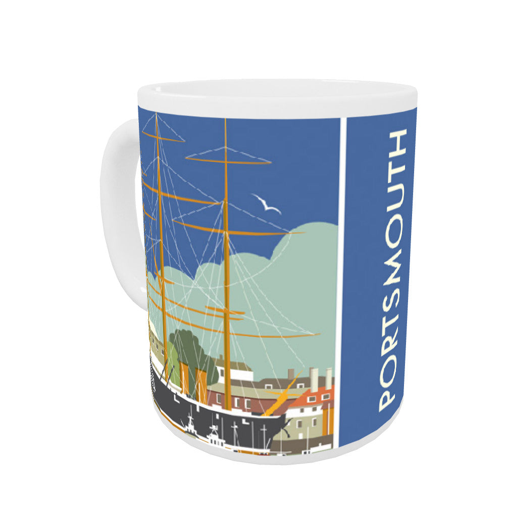 HMS Warrior, Portsmouth Coloured Insert Mug