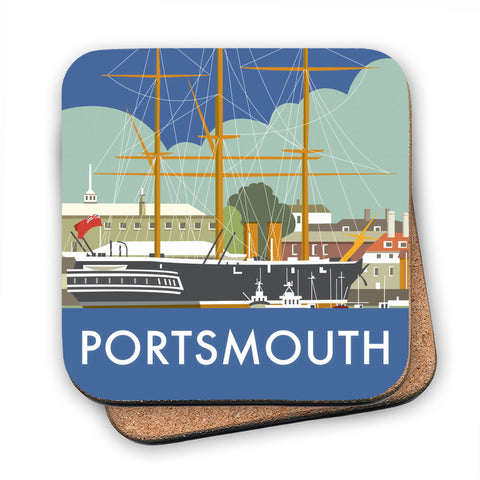 HMS Warrior, Portsmouth MDF Coaster