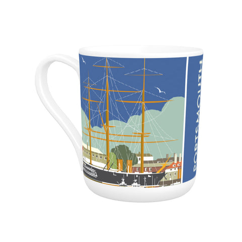 HMS Warrior, Portsmouth Bone China Mug