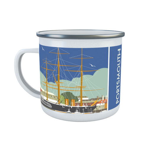 HMS Warrior, Portsmouth Enamel Mug