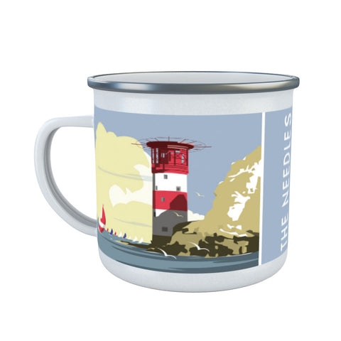The Needles, Isle of Wight Enamel Mug