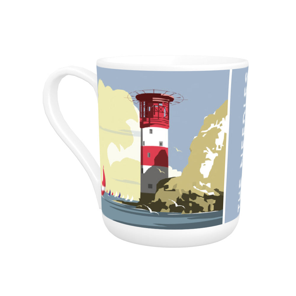 The Needles, Isle of Wight Bone China Mug
