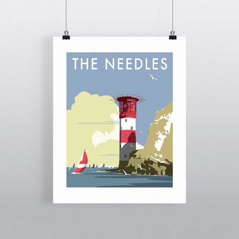 The Needles, Isle of Wight Fine Art Print