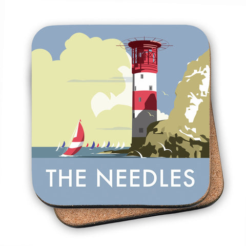 The Needles, Isle of Wight MDF Coaster