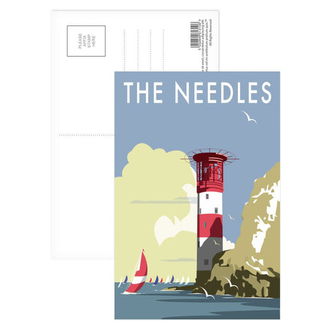 The Needles, Isle of Wight Postcard Pack