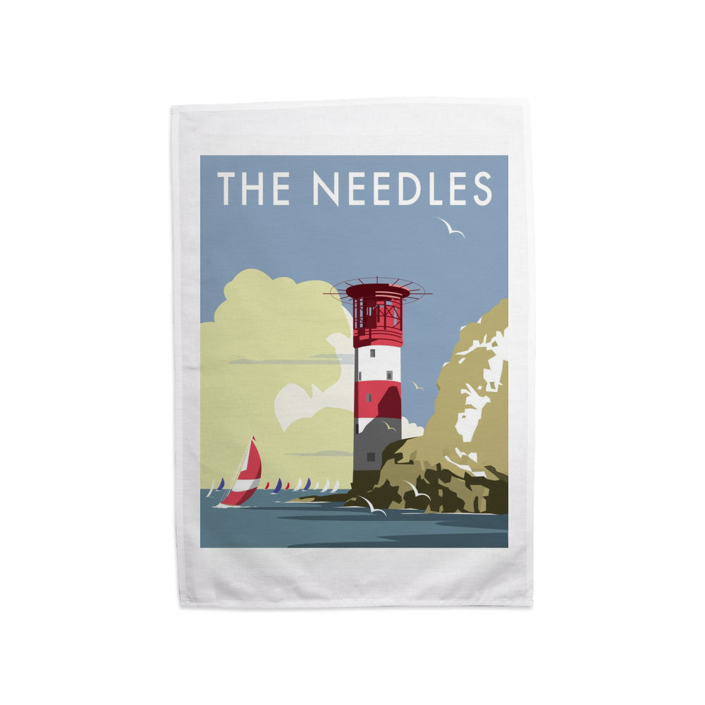 The Needles, Isle of Wight Tea Towel