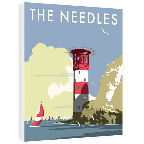 The Needles, Isle of Wight Canvas