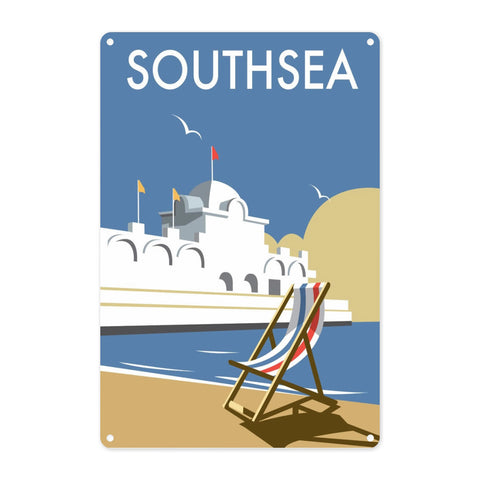 Southsea Pier, Portsmouth Metal Sign