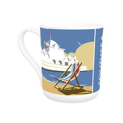 Southsea Pier, Portsmouth Bone China Mug