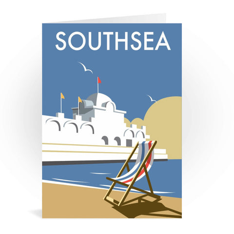 Southsea Pier, Portsmouth Greeting Card 7x5