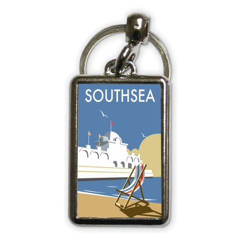 Southsea Pier, Portsmouth Metal Keyring