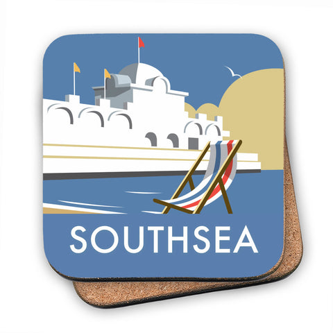 Southsea Pier, Portsmouth MDF Coaster