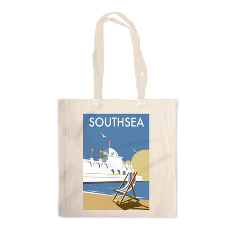 Southsea Pier, Portsmouth Canvas Tote Bag