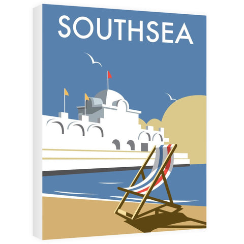 Southsea Pier, Portsmouth Canvas