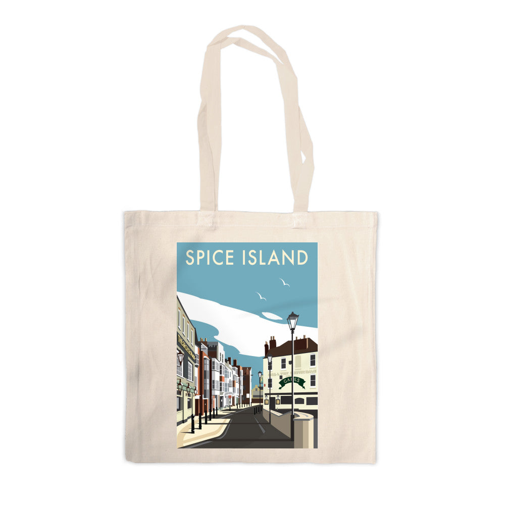 Spice Island, Portsmouth Canvas Tote Bag