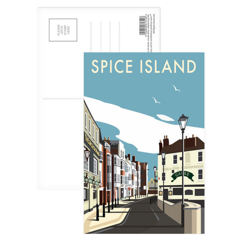 Spice Island, Portsmouth Postcard Pack