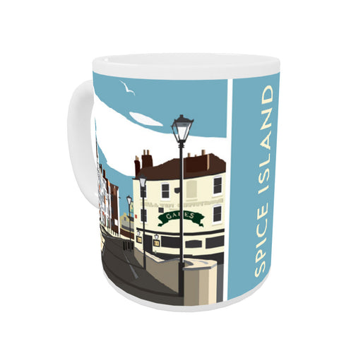 Spice Island, Portsmouth Coloured Insert Mug