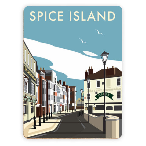 Spice Island, Portsmouth Placemat