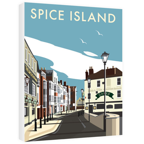 Spice Island, Portsmouth Canvas