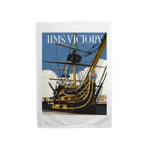 HMS Victory, Portsmouth Tea Towel