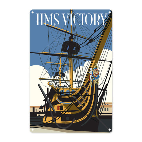 HMS Victory, Portsmouth Metal Sign