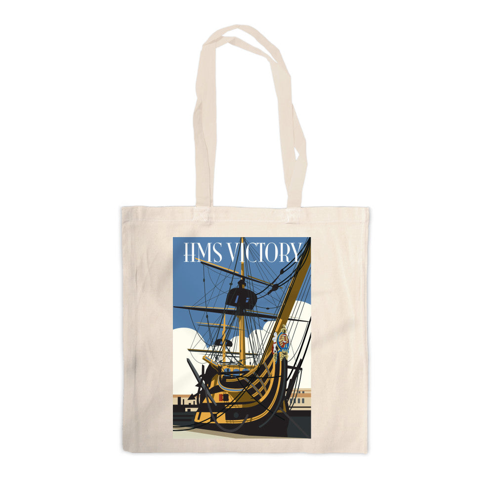 HMS Victory, Portsmouth Canvas Tote Bag