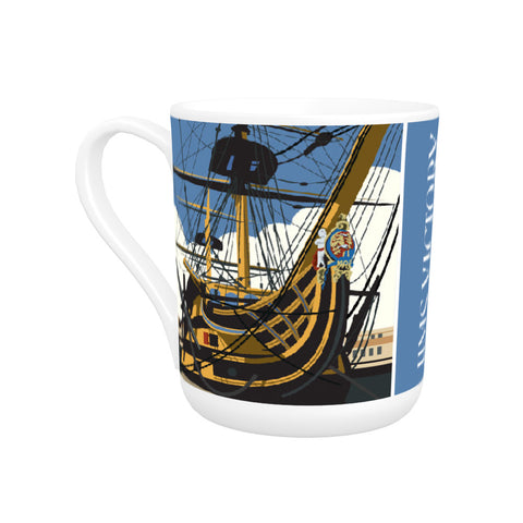 HMS Victory, Portsmouth Bone China Mug