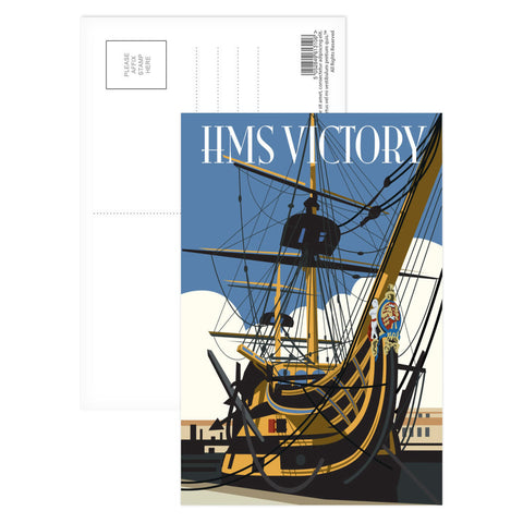 HMS Victory, Portsmouth Postcard Pack
