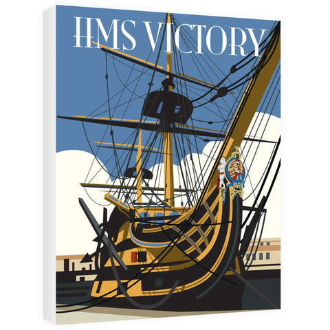 HMS Victory, Portsmouth Canvas