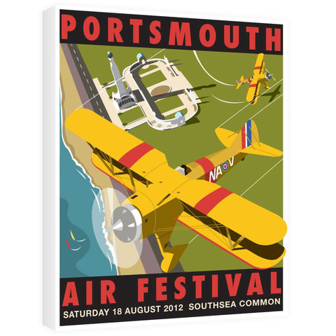 Portsmouth Air Festival Canvas