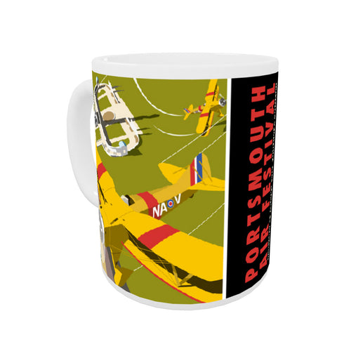 Portsmouth Air Festival Coloured Insert Mug