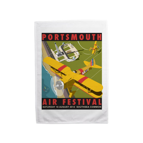 Portsmouth Air Festival Tea Towel