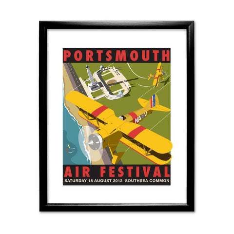 Portsmouth Air Festival 11x14 Framed Print (Black)