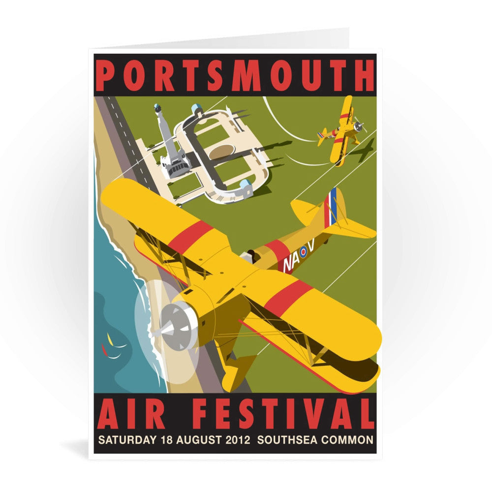 Portsmouth Air Festival Greeting Card 7x5