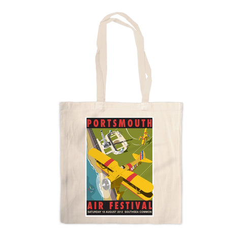 Portsmouth Air Festival Canvas Tote Bag