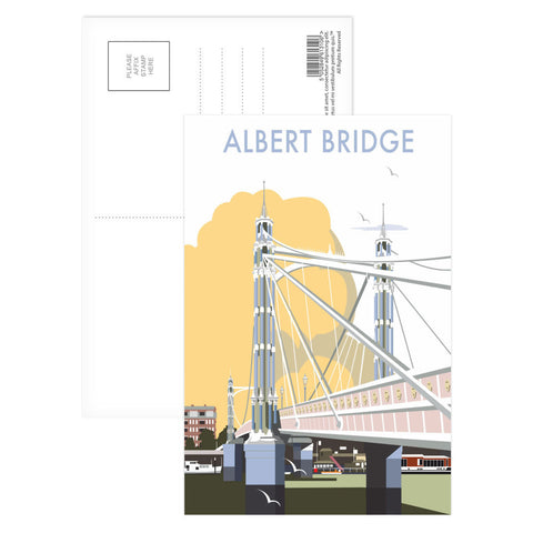 Albert Bridge, London Postcard Pack