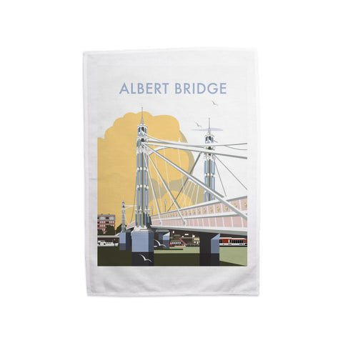 Albert Bridge, London Tea Towel