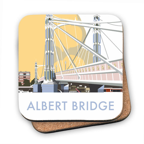 Albert Bridge, London MDF Coaster