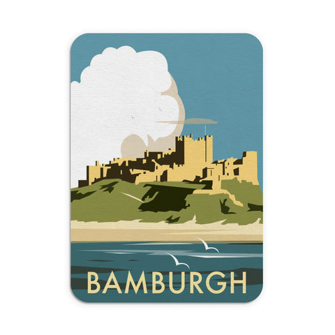 Bamburgh Castle Mouse Mat