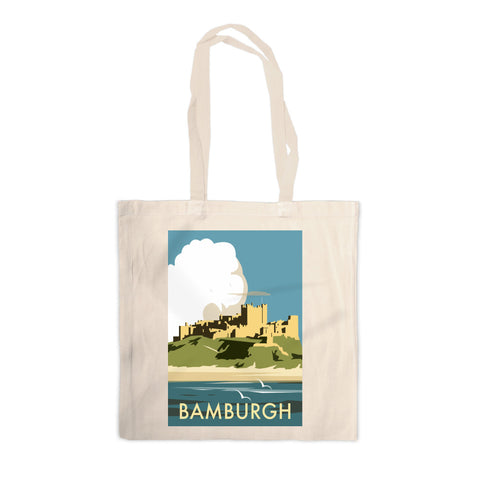 Bamburgh Castle Canvas Tote Bag