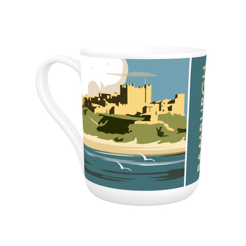 Bamburgh Castle Bone China Mug