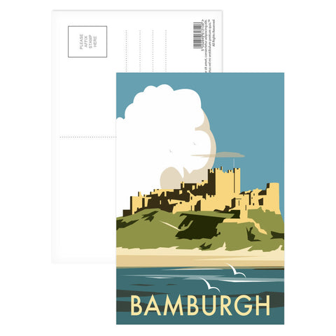 Bamburgh Castle Postcard Pack