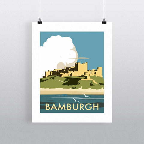 Bamburgh Castle Fine Art Print
