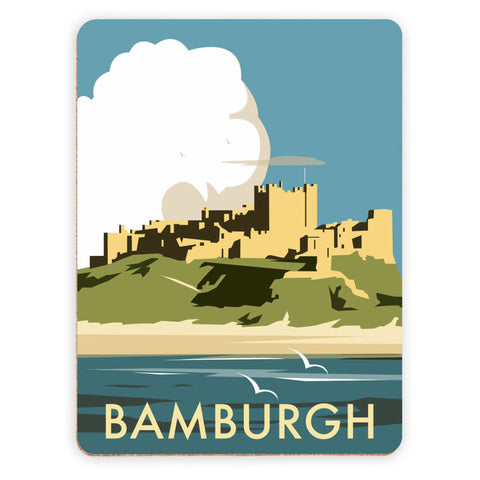 Bamburgh Castle Placemat