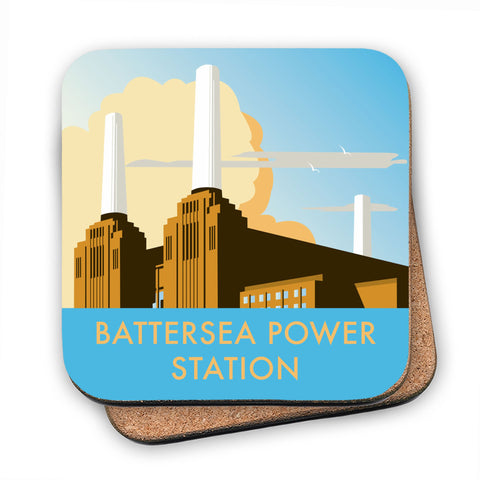 Battersea Power Station MDF Coaster