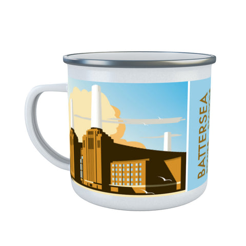 Battersea Power Station Enamel Mug